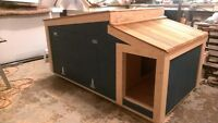 Dog Houses (made for extreme weather)