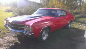 LOOKING FOR THIS CAR 71 CHEVELLE SS CLONE