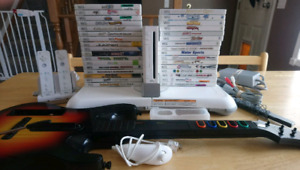Nintendo Wii with 33 games