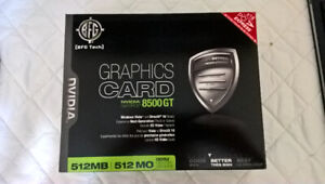 BFG Tech GeForce 8500 GT 512MB PCI Express Video Card