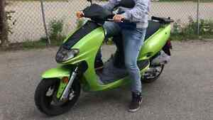Scooter kymco modifier