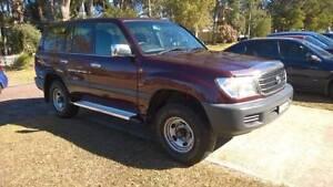 1998 Toyota LandCruiser GXL FZJ105R Wagon Wyee Point Lake Macquarie Area Preview