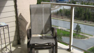 Outdoor Furniture - Glide Chair