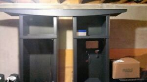 Entertainment centre cabinets with canopy