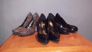 Three Pairs of Shoes