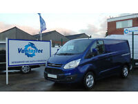 Ford Transit Custom 2.0TDCi 130PS 270 L1 H1 Limited Euro 6 with Polyshield