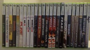 XBOX 360 GAMES - $5.00 - UP