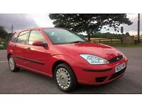 2004 Ford Focus 1.6 Flight 5-door, One owner. Full Ford service history