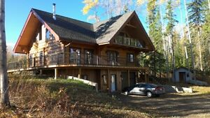 Georgeous Log Home on 5.8 acres