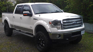 2013 Ford F-150 Lariat w/Luxury Package *LIFTED* - 39,400km