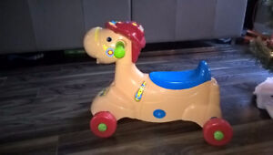 Ride on Vtech Horse with Music