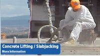 Slab jacking and Cement lifting/raising with liquid foam