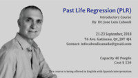 PAST LIFE REGRESSION (PLR) INTRODUCTORY COURSE by Dr. Cabouli