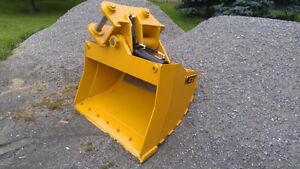 WGT – Excavator: Rakes, Rippers, Buckets, & Couplers Kawartha Lakes Peterborough Area image 3