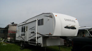 Roulotte fifth wheel 32'