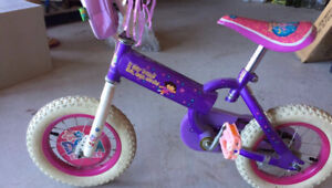 Girls Dora Bike
