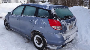 Parting out 2003 Toyota Matrix XRS