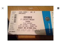 Aurora gig tickets for Glasgow 3rd October