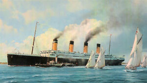 RMS TITANIC 1/348 Large Scale Model Kit by AA London Ontario image 9