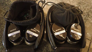 Sony Noise Cancelling Headphones - 2 pairs