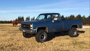1982 chev pickup excellent condition