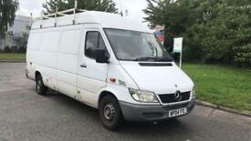 2004 MERCEDES BENZ SPRINTER 311 CDi LWB MR MOT JAN 18 PX JUST IN LADDER 2 KEY PX