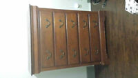 SOLID WOOD LARGE TALL DRESSER