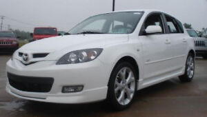2009 Mazda 3 Sport. New  Winter Tires and Windshield