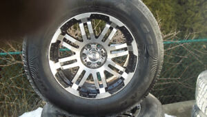 after market tires and rims truck 6by 114.3 or 4.5 bolt
