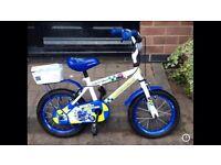 """Children's 14"""" Halfords Police Bike"""