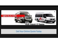 A40 Minibus coach Hire , We offer affordable minibus and coach hire services london,high wycombe