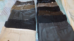 Men's Used dress pants or Polo Shirts; $3.00 each