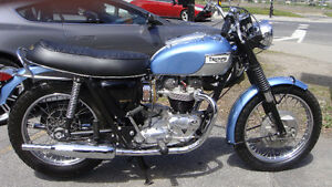 Triumph 1969 Reconditionnée à 100%