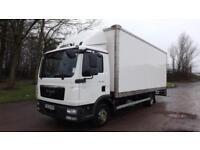 2013 Euro 5 MAN TGL 7.180 7.5 tonne Box Truck