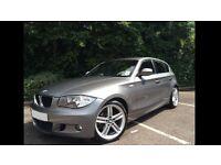 BMW 118d M-Sport (Metallic Grey)
