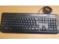 Microsoft Black Keyboard