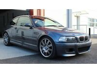 BMW E46 M3 Rare Steel Grey SMG2 (FSH, New SMG Pump & Rear Subframe replaced)