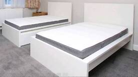 2x Nearly New Single IKEA Bed For Sale