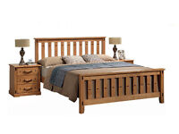 BRAND NEW Wooden Bed Frame with summer offer 50% off