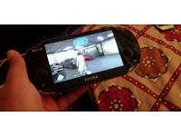 PlayStation vita 3g and wifi. With 16gb memory card