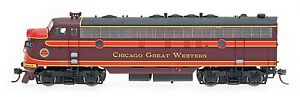 InterMountain-HO-49947-Chicago-Great-Western-CGW-FP7-Locomotive-DCC