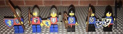 Lego 6102 Castle Minifigures Pack Complete Set Vintage