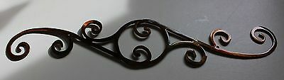 "Decorative Scroll  12"" Metal Wall Art Decor"