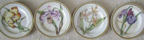 American Atelier Botanical Set of 4 Salad Plates