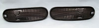 VW NEW BEETLE 98-05 CRYSTAL BLACK SMOKED FRONT INDICATORS REPEATERS