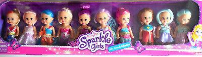 Funville Sparkle Girlz Little Friends Collection Set 10 Dolls
