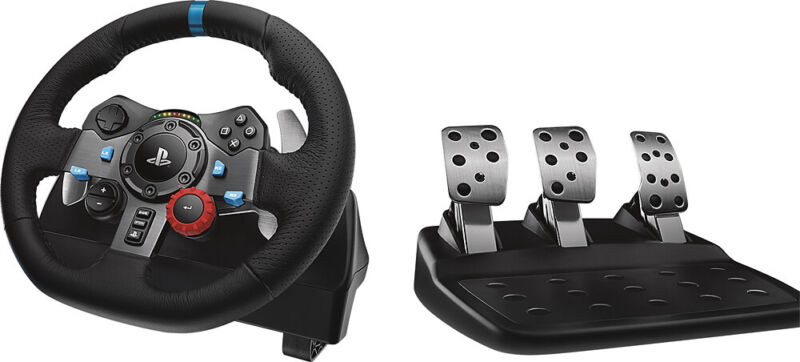 Logitech - G29 Driving Force Racing Wheel For Playstation 5, Playstation 4 & ...