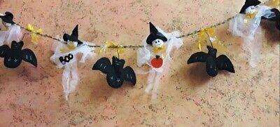 Filza pipistrelli e fantasmini festone di Halloween