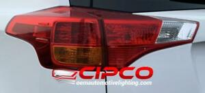 2013 2014 2015 Toyota Rav4 New Used OE OEM Tail Light Lamp Assembly Replacement Rear Back Stop Brake Cover Taillight 13