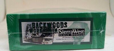 Ho Standard Sierra West Scale Models Standard Work Train Kit